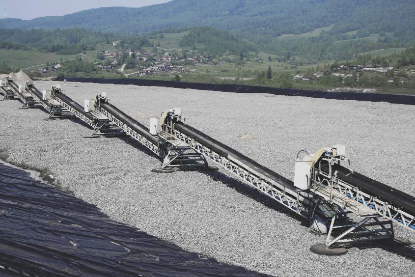 горный конвейерное оборудование